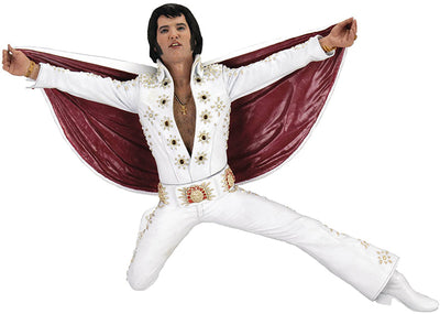 Elvis The King Of Rock Studio Artist 7 Inch Action Figure - Elvis Presley Live 1972