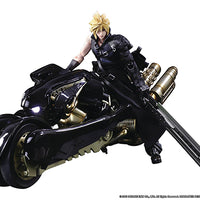 Final Fantasy VII 8 Inch Action Figure Play Arts Kai - Cloud Strife & Fenrir