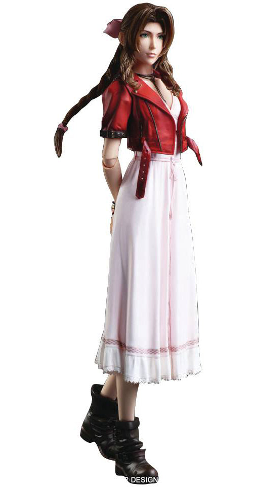 Final Fantasy VII Remake Play Arts Kai 10 Inch Action Figure - Aerith Gainsborough