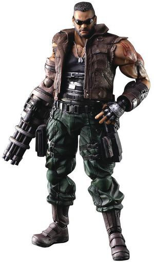 Final Fantasy VII Remake Play Arts Kai 10 Inch Action Figure - Barret Wallace