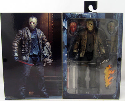 Freddy vs Jason 6 Inch Action Figure Ultimate Series - Jason Voorhees