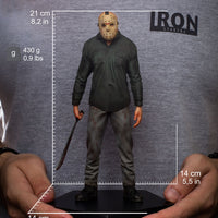 Friday The 13th 8 Inch Action FIgure Art 1/10 Scale Series - Jason
