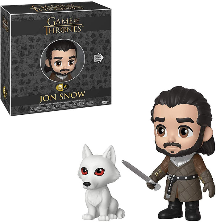 Game Of Thrones 3.75 Inch Action Figure 5-Star - John Snow