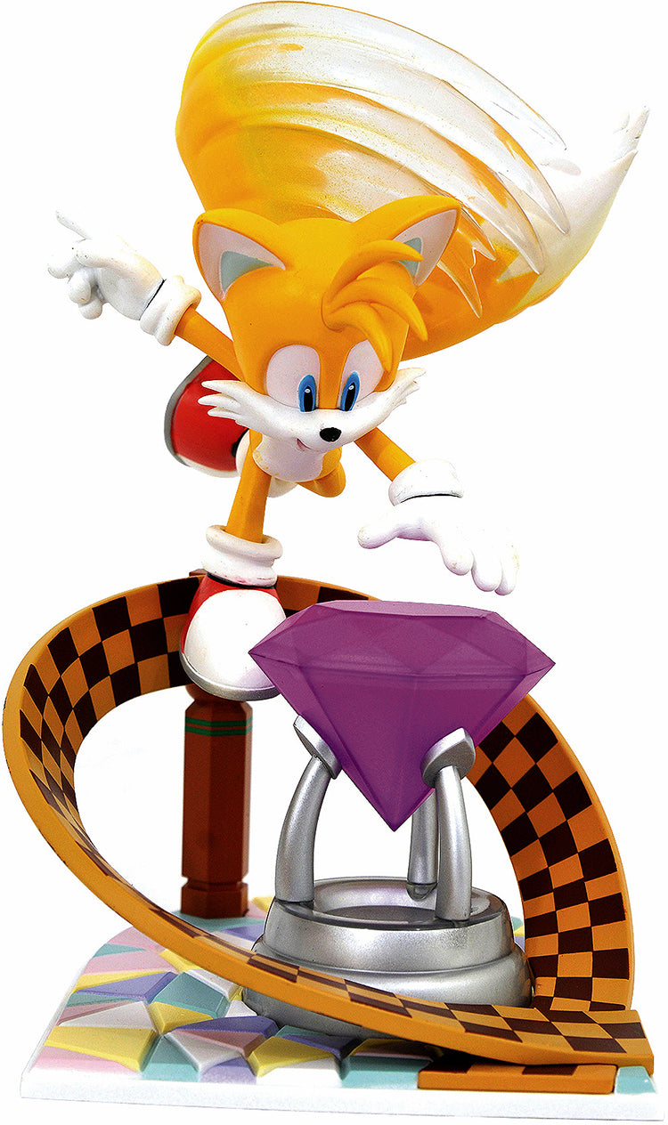 Gaming Gallery 9 Inch PVC Statue Sonic The Hedgehog - Tails
