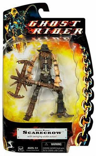 Ghost Rider Movie 6 Inch Action Figure Basic Series - Scarecrow