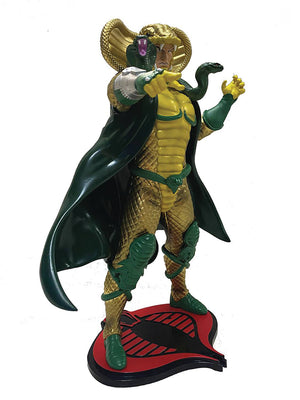 G.I. Joe 9 Inch Statue Figure 1/8 Scale PVC - Serpentor