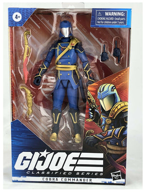 G.I. Joe 6 Inch Action Figure Classified Exclusive - Cobra Commander Variant