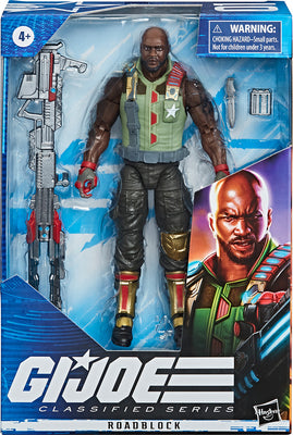 G.I. Joe 6 Inch Action Figure Classified Series - Roadblock Silver Gun #01