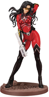 G.I. Joe Exclusive 10 Inch Statue Figure Bishoujo - Baroness Crimson Strike Team