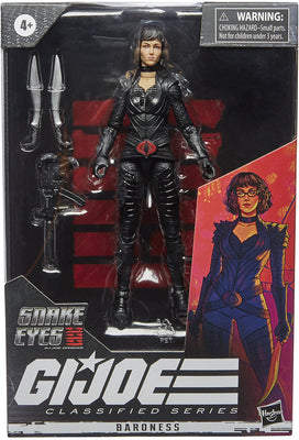 G.I. Joe Origins Movie 6 Inch Action Figure Classified Series 1 - Baroness