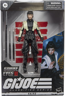 G.I. Joe Origins Movie 6 Inch Action Figure Classified Series 2 - Akiko