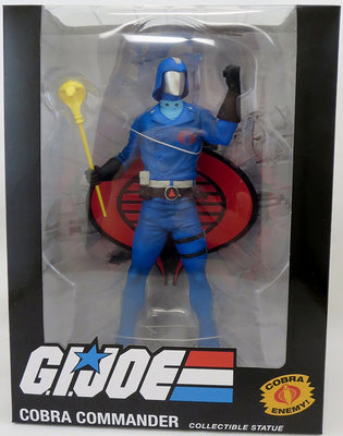 G.I. Joe PVC 8 Inch Statue Figure 1/8 Scale - Cobra Commander