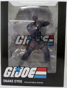 G.I. Joe PVC 8 Inch Statue Figure 1/8 Scale - Snake Eyes