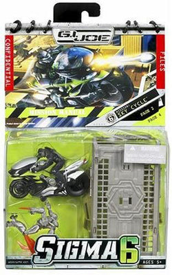 G.I. Joe Sigma 6 2 Inch Action Figure Mission Series - Sky Cycle