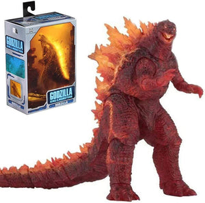 Godzilla King Of Monsters 7 Inch Action Figure 12 Inch Head To Tail - Godzilla Burning Exclusive