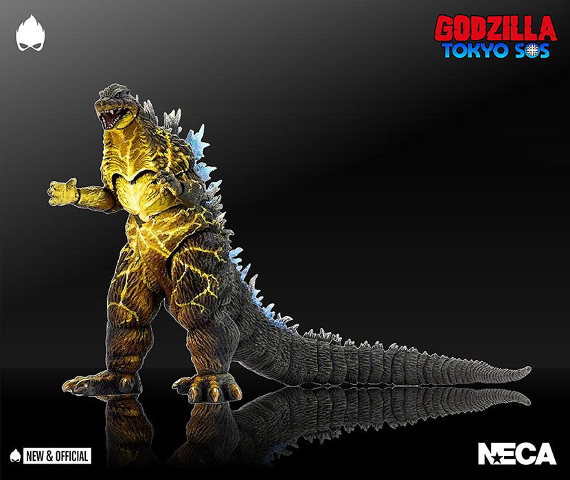 Godzilla: Tokyo S.O.S 7 Inch Action Figure 12 Inch Head To Tail - Godzilla 2003 Hyper Maser Blast Exclusive