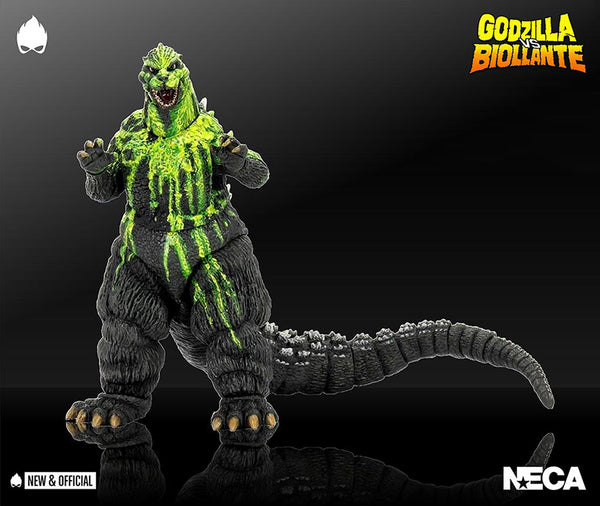 Godzilla vs Biollante 7 Inch Action Figure 12 Inch Head To Tail - Godzilla 1989 Biollante Bile