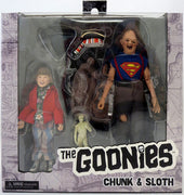 Goonies 8 Inch Action Figure Retro Clothed Series - Sloth and Chunk