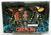 Gremlins 1984 6 Inch Action Figure 2-Pack Series - Gremlins Christmas Carol Winter Scene (Head On Gingerbread Man)