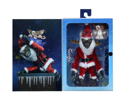 Gremlins 6 Inch Action Figure Ultimate Series - Santa Stripe with Mini Gizmo