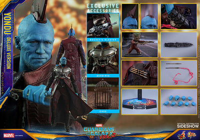 Guardians Of The Galaxy Vol 2 12 Inch Action Figure MMS 1/6 Scale Series - Yondu Deluxe Version Hot Toys 903103