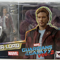 Guardians Of The Galaxy 6 Inch Action Figure S.H. Figuarts - Star Lord with Explosion