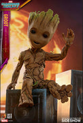 Guardians Of The Galaxy Vol2 10 Inch Action Figure Life Size Masterpiece Series - Groot Exclusive Hot Toys 903344