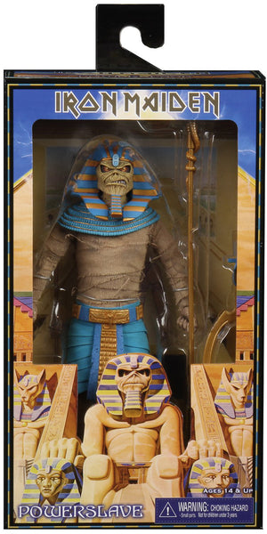 Iron Maiden 8 Inch Action Figure Retro Clothed Series - Pharaoh Eddie
