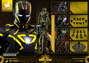 Iron Man 2 12 Inch Action Figure Movie Masterpiece Series - Neon Tech Iron Man 2.0 Hot Toys 904407
