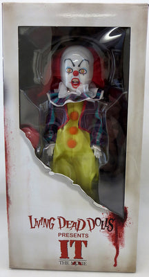 IT 1990 12 Inch Action Figure Living Dead Dolls - Pennywise