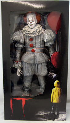 IT 2017 18 Inch Action Figure 1/4 Scale Series - Pennywise