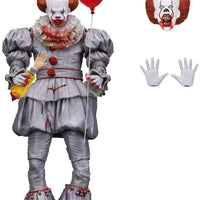 IT Movie 7 Inch Action Figure Ultimate Series - Bloody Pennywise SDCC 2018 (Sub-Standard Packaging)