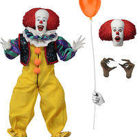 IT 8 Inch Action Figure Retro Clothed Series - Pennywise 1990