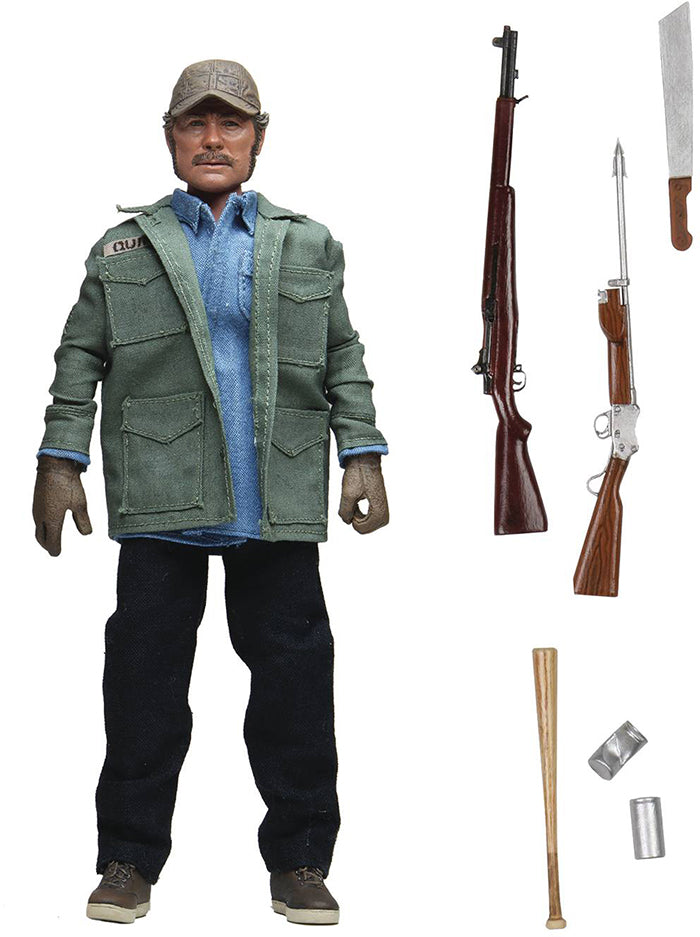 Jaws 8 Inch Action Figure Retro Doll Series - Sam Quint