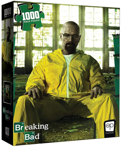 Jigsaw Puzzle Breaking Bad 19 Inch by 26 Inch Puzzle 1000 Piece - Walter White as Heisenberg