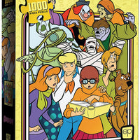 Jigsaw Puzzle Scooby-Doo 19 Inch by 27 Inch Puzzle 1000 Piece - Those Meddling Kids