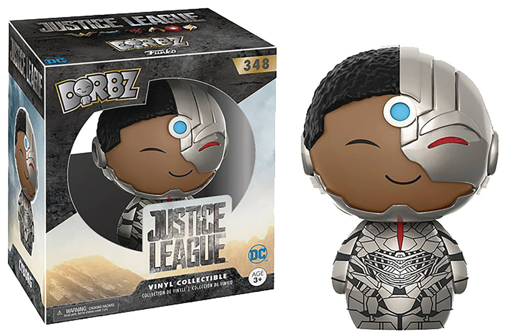 Justice League 3 Inch Static Figure Dorbz - Cyborg #348