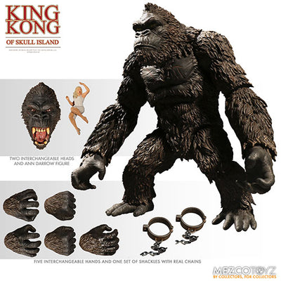 King Kong Skull Island 7 Inch Action Figure - King Kong Colored