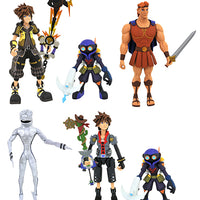 Kingdom Hearts 3 Select 7 Inch Action Figure Series 2 - Set of 3 (Hercules - Toy Sora - Guardian Sora)