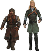 Lord Of The Rings Select 7 Inch Action Figure BAF Sauron Series 1 - Set of 2 (Gimli - Legolas)