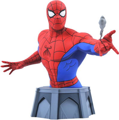 Marvel Animated Series Spider-Man 6 Inch Bust Statue 1/7 Scale - Spider-Man