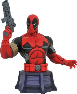 Marvel Animated 6 Inch Bust Statue X-Men - Deadpool Bust