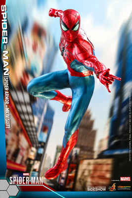 Marvel Comics Collectible 12 Inch Action Figure 1/6 Scale Series - Spider-Man Spider Armor - MK IV Suit Hot Toys 906512