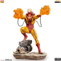 Marvel Collectible Battle Diorama 7 Inch Statue Figure 1:10 Art Scale - Pyro Iron Studios 906544