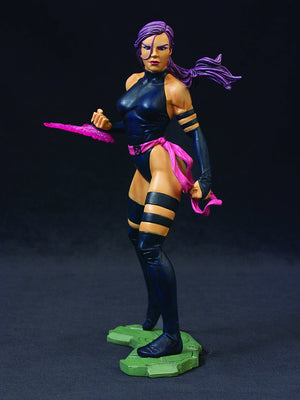 Marvel Collectible 8 Inch Statue Figure Bowen Designs - Psylocke X-Men Modern Era