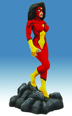 Marvel Collectible 8 Inch Statue Figure Bowen Designs - Spider-Woman New Avengers
