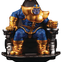 Marvel Collectible Statue Figure Fine Art - Thanos On Space Throne