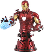 Marvel Collectible Iron Man 6 Inch Bust Statue - Iron Man