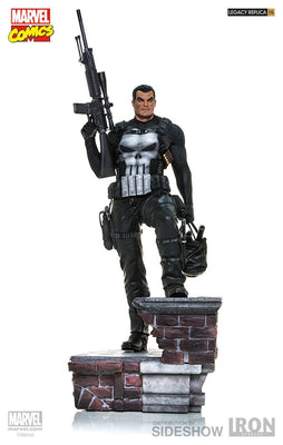 Marvel Collectible 28 Inch Statue Figure Legacy Replica - The Punisher Iron Studios 903201