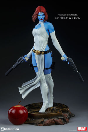 Marvel Collectible 19 Inch Statue Figure Premium Format - Mystique Sideshow 300669 (Shelf Wear Packaging)